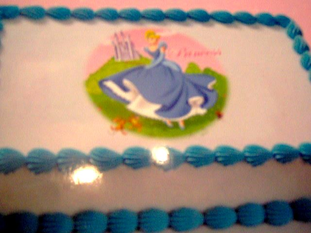 BC - Princess Theme Cake